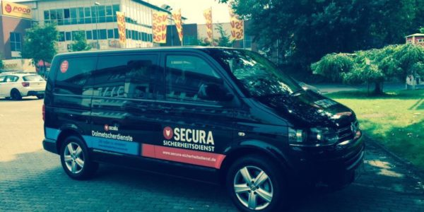 SECURA-Sicherheitsdienst-Flotte